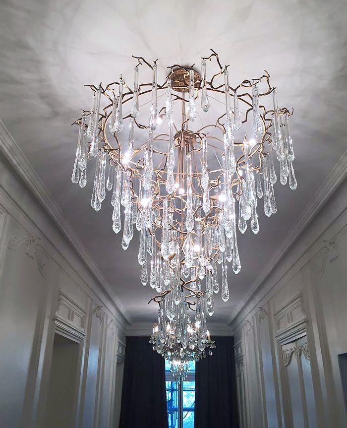replica Bijout Oval Chandelier by Serip Lighting