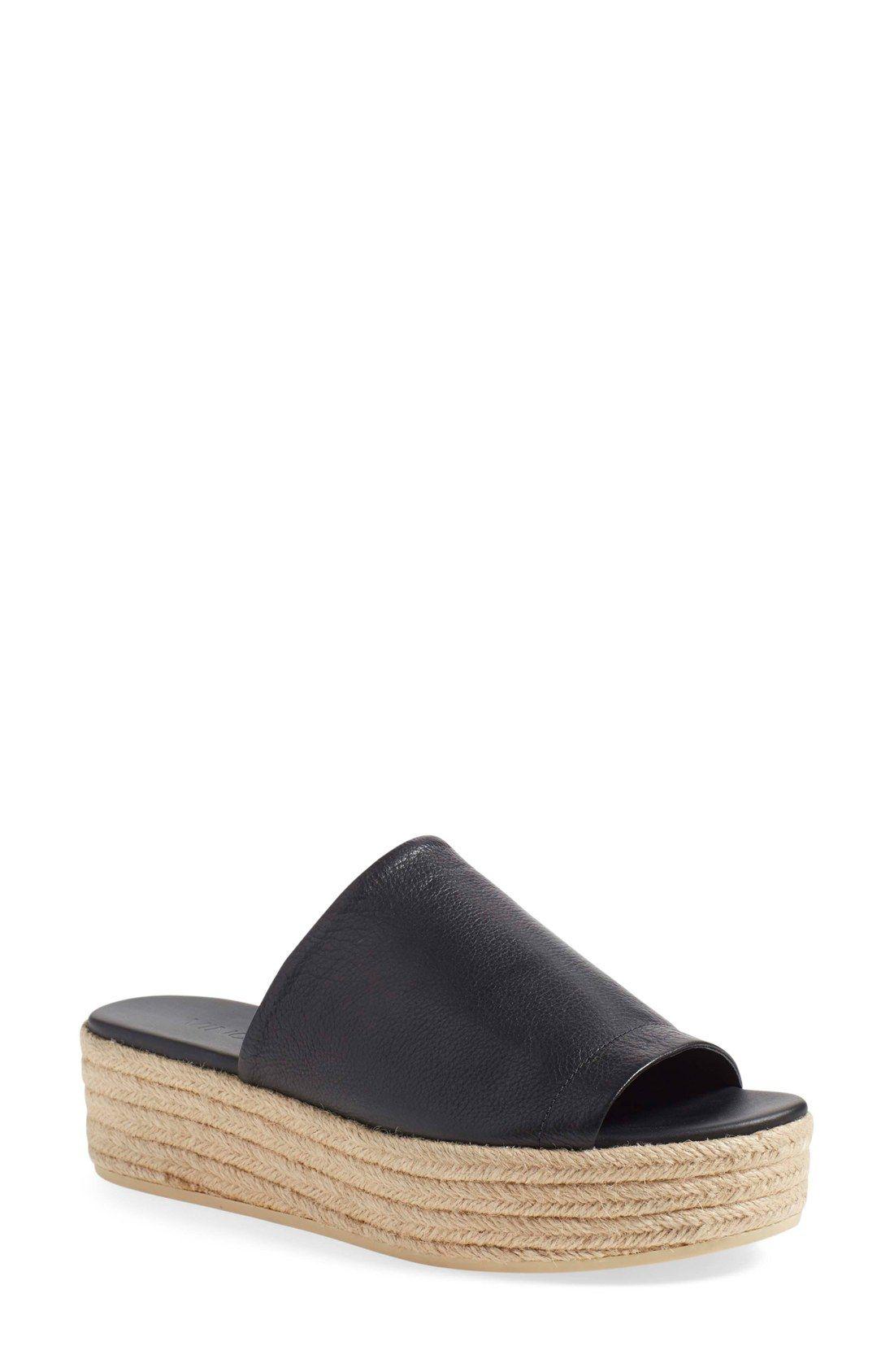 fdc765161c94 Vince  Solana 3  Espadrille Platform Slide Sandal (Women)