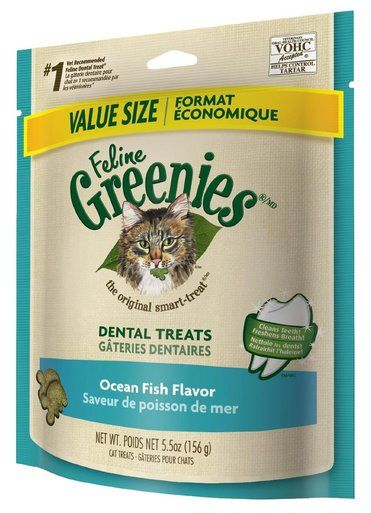Feline Greenies Dental Treats 5 5 Oz Ocean Fish Vet Recommended For Cats Roast Chicken Flavours Chicken Treats Oven Roasted Chicken