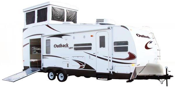 Expandable Travel Trailer With Bunk Beds