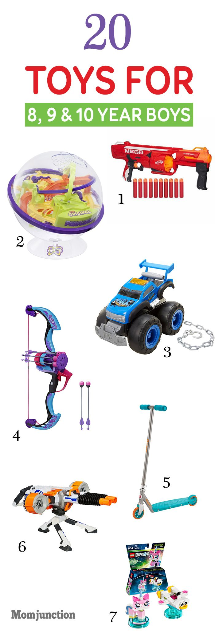 31 Best Toys For 8,9 and 10 Years Old Boys To Buy In 2020