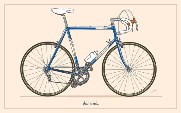 Gios Torino Super Record By Will Rei Via Behance Cycling