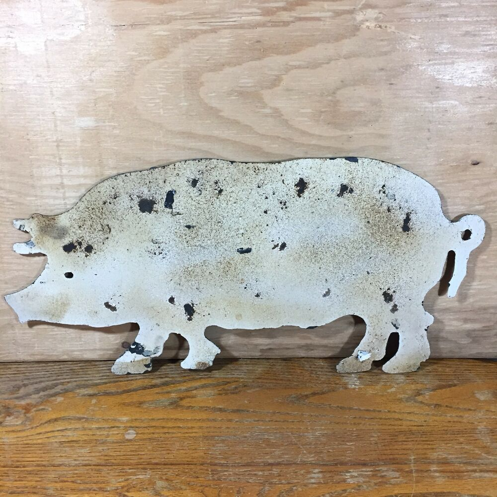 Metal Pig Wall Art Kitchen Home Farmhouse Rustic Decor Primitive Pork Bbq Pig Decor Pigdecor Pig Pigart 17 98 End D Pig Wall Art Pig Decor Kitchen Art