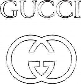 Gucci  Merken  glittermotifs  Hotfix