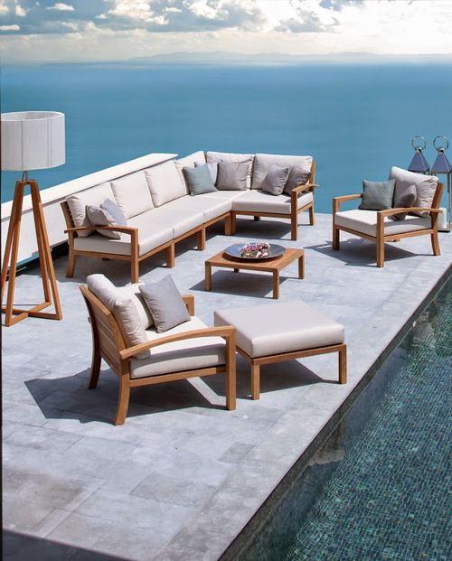 Salon de jardin haut de gamme ROYAL BOTANIA. Sun mobilier ...