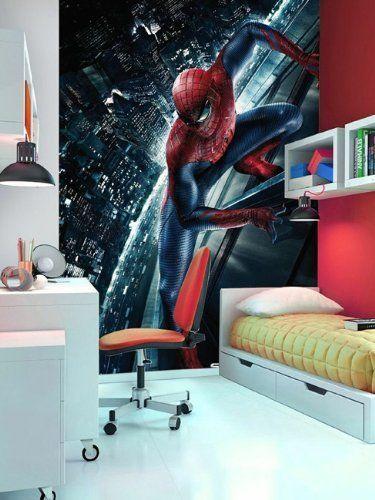 Pingl par fanou g sur chambre hugo en 2019 wall art wallpaper wall murals et wall wallpaper - Deco chambre spiderman ...
