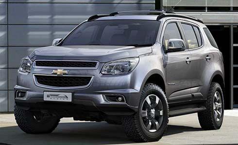 Nova Chevrolet Blazer 2012 (Trailblazer)
