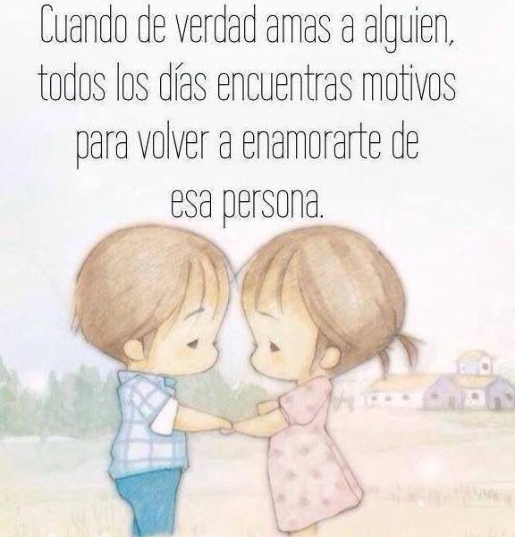 Cuando Amas A Alguien Frases Bonitas Amor De Pareja Frases Frases De Enamorados