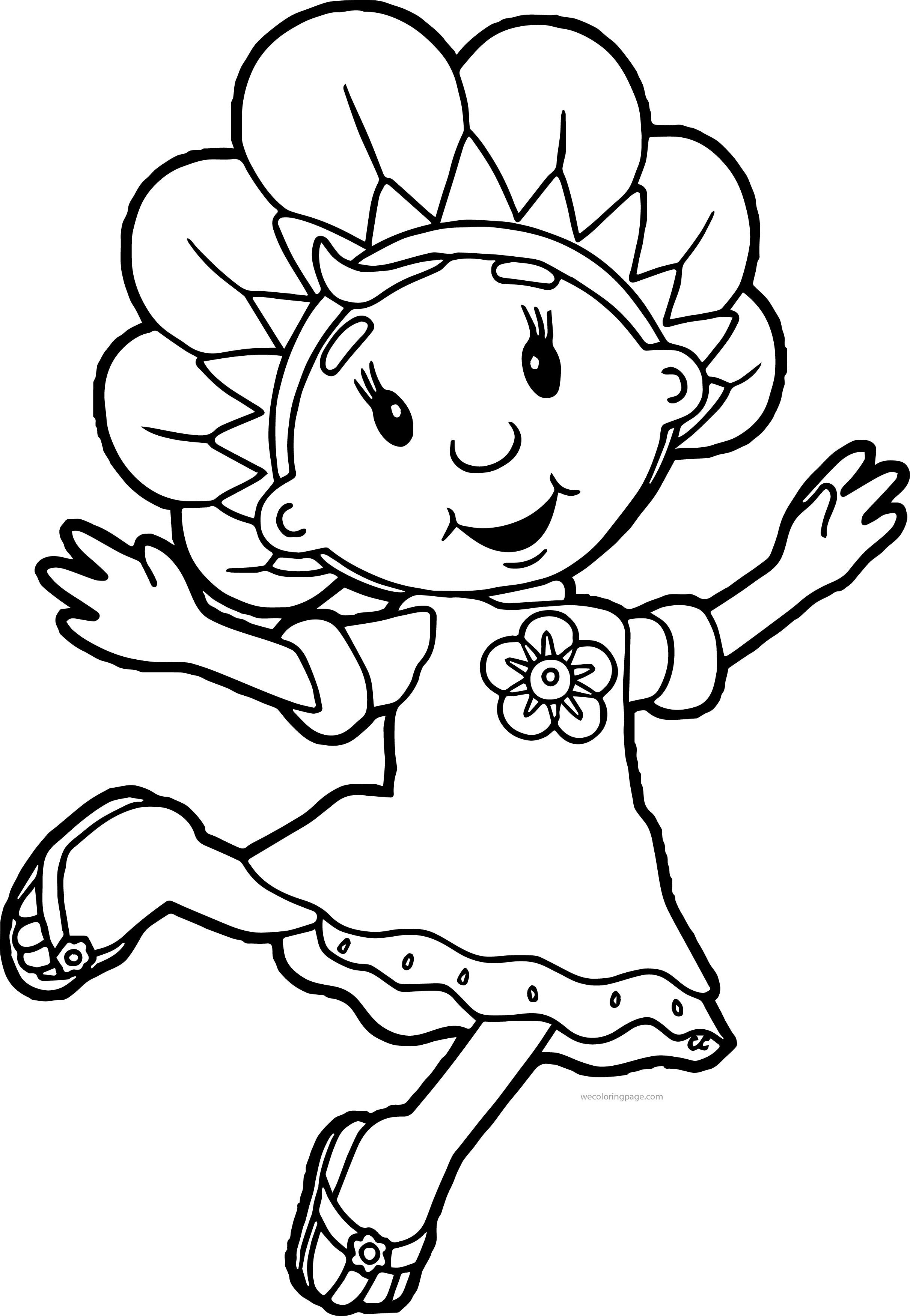 Fifi and the Flowertots Coloring Pages | Time toooo Relax | Pinterest