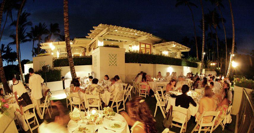 Hawaiian Wedding Receptions On Maui