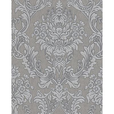 Pin by Elcaas on Skulls Damask wallpaper, Grey wallpaper