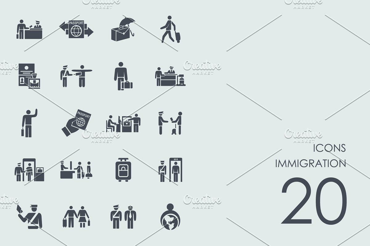 9 Immigration Infographics In 2020 Infographic Blurred Background Immigration