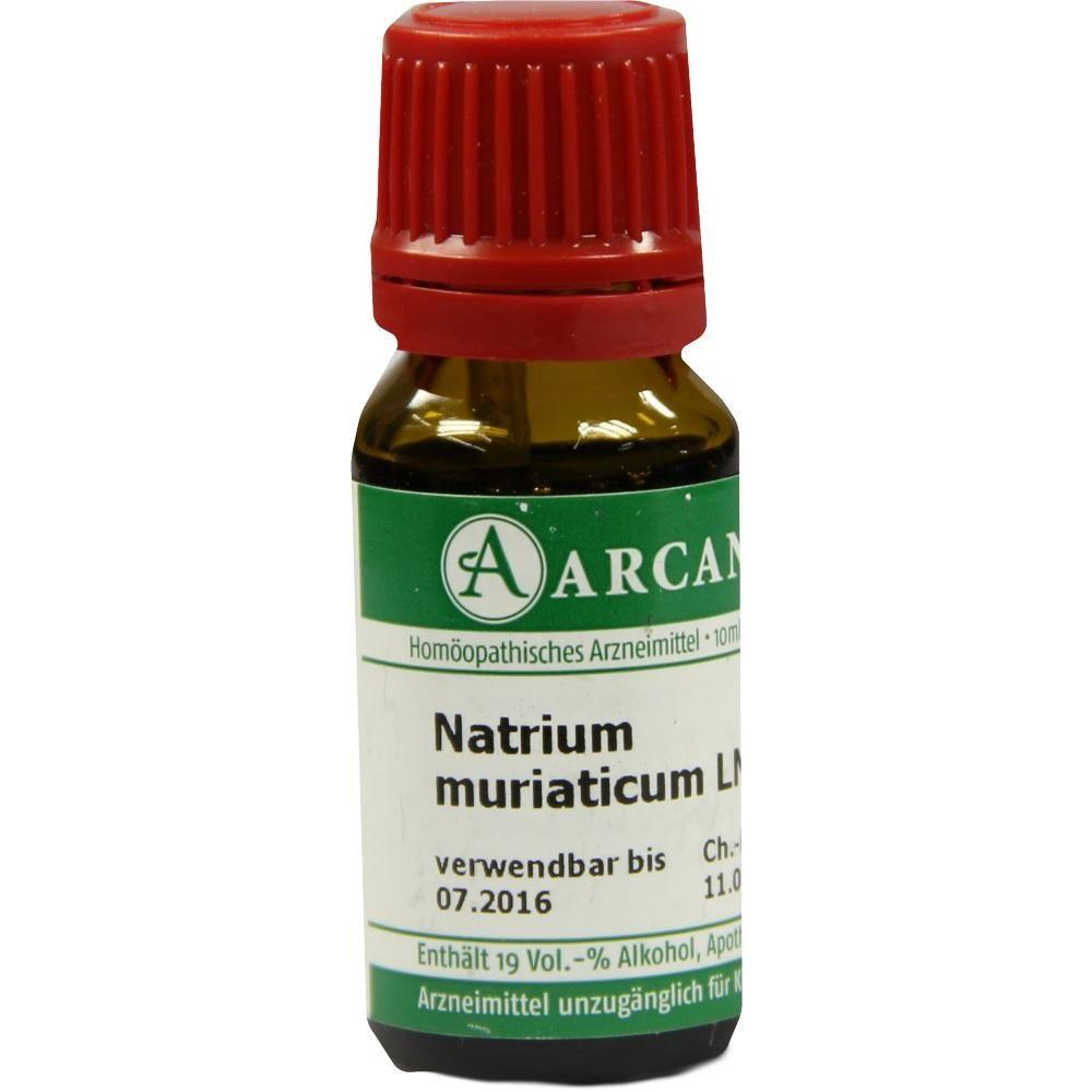 NATRIUM MURIATICUM Arcana LM 12 Dilution:   Packungsinhalt: 10 ml Dilution PZN: 07541213 Hersteller: ARCANA Arzneimittel-Herstellung Dr.…