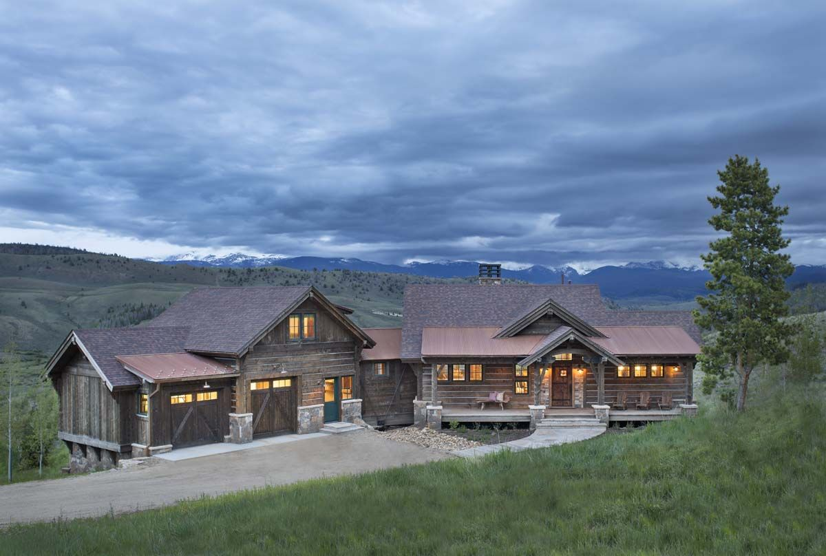 A colorado ranch style home is a haven of rustic warmth for Rustic ranch house