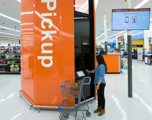 Walmart Has Already Lost Its Battle With Amazon Pick up