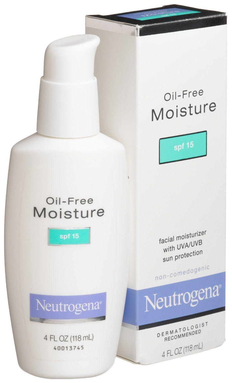 Non Comedogenic Neutrogena Moisturizer Moisturizer For Oily Skin Drugstore Moisturizer Moisturizer For Dry Skin