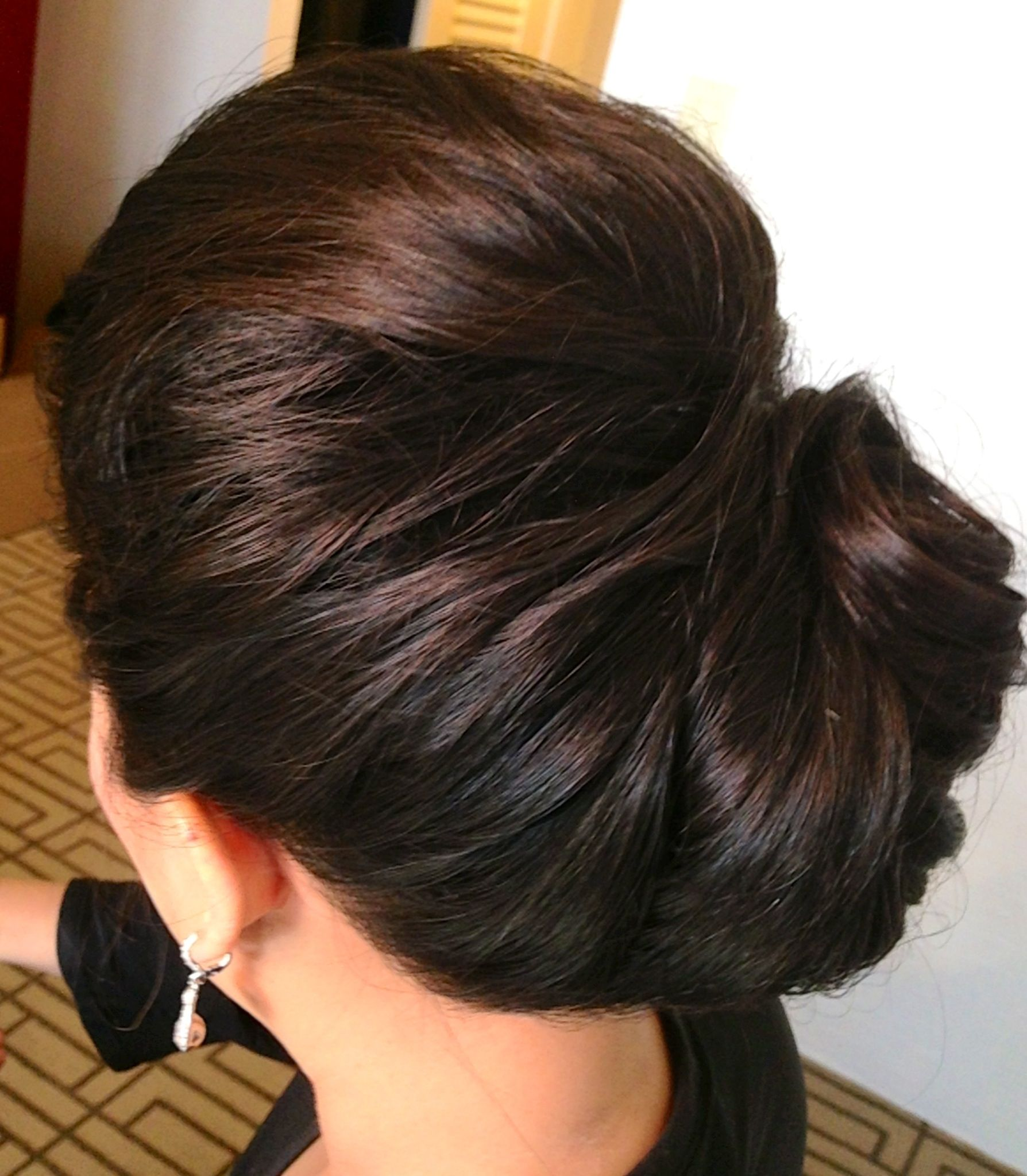 Wedding updo wedding hair updo classic updo chignon french