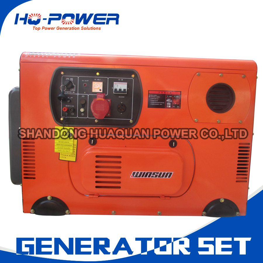 Silent Diesel Genset Small Home Engine 10kw 12 5kva Mini Generator Set Small Diesel Generator Generation Alternator