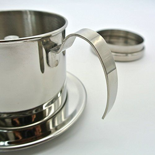 SCREW FILTER Size 8 Vietnamese Coffee Cup Filter Stainless Steel Phin Cà Phê