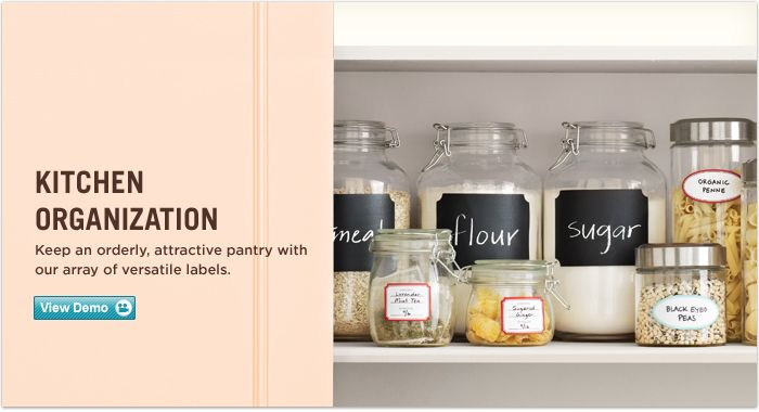 Kitchen Container Labels | Avery