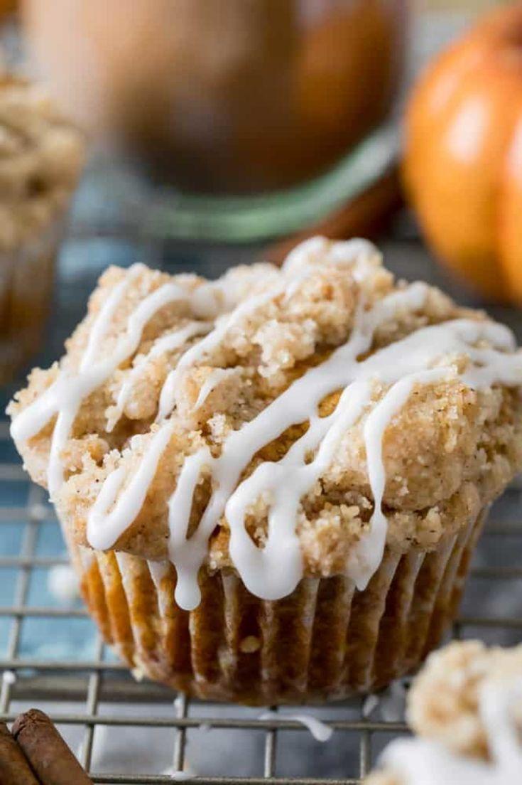 The BEST Pumpkin Muffins - Sugar Spun Run