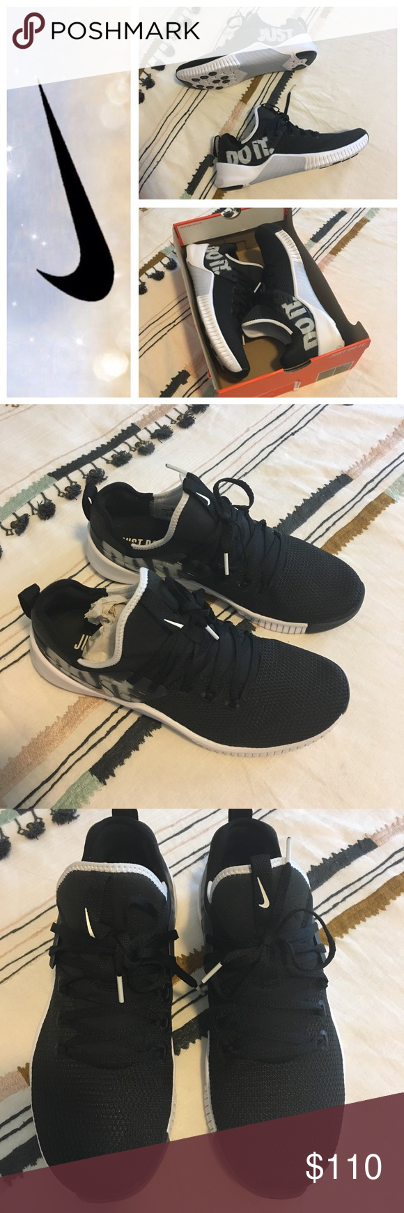 f588f55dd4531 Men s Nike FREE Metcon Just Do It Sneakers 10 ▫️name brand  NIKE ▫