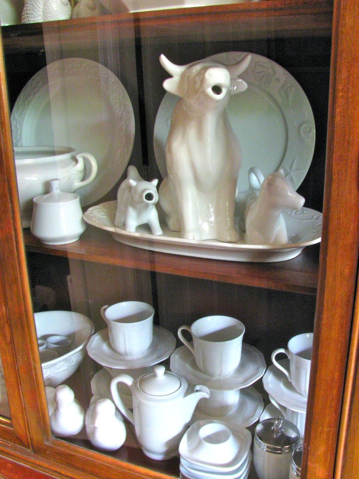 MAY DAYS: Collecting White Ironstone