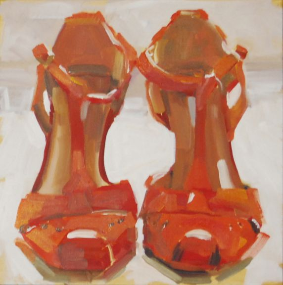 Two Shoes by Laura Lacambra Shubert