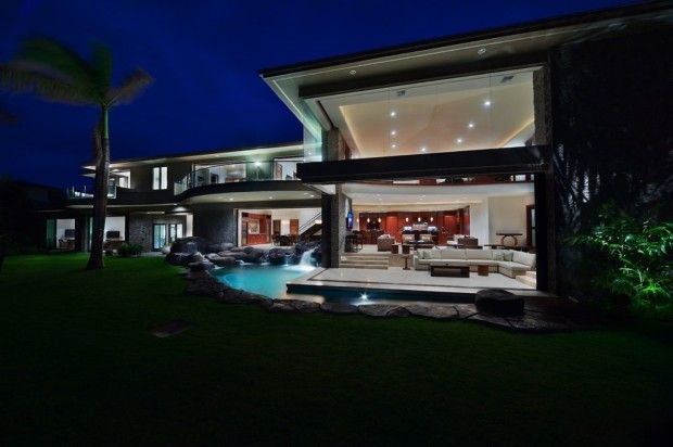 Lovely ... This Luxury Residence Is Located Between Kaanapali And Kapalua. The  Project Was Completed In Late 2009 By Californian Architecture Firm Arri  LeCron.