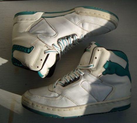 vintage puma basketball shoes