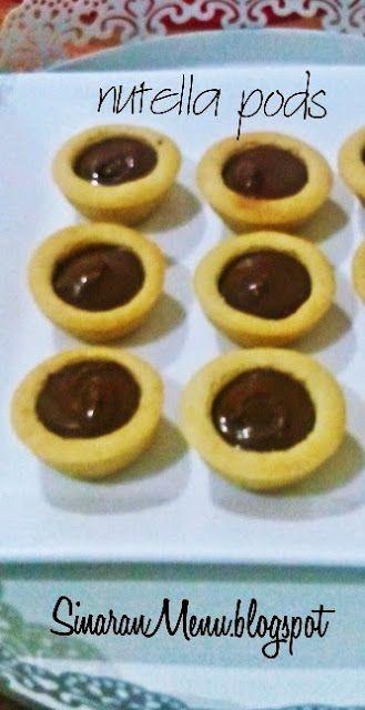 Sinaranmenu Nutella Pods Nutella Resep Nutella Kue Lezat
