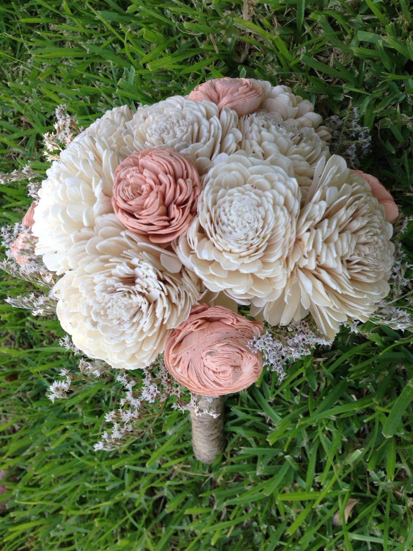 Handmade natural balsa wood flower wedding bouquet sola flower handmade natural balsa wood flower wedding bouquet sola flower bouquet izmirmasajfo