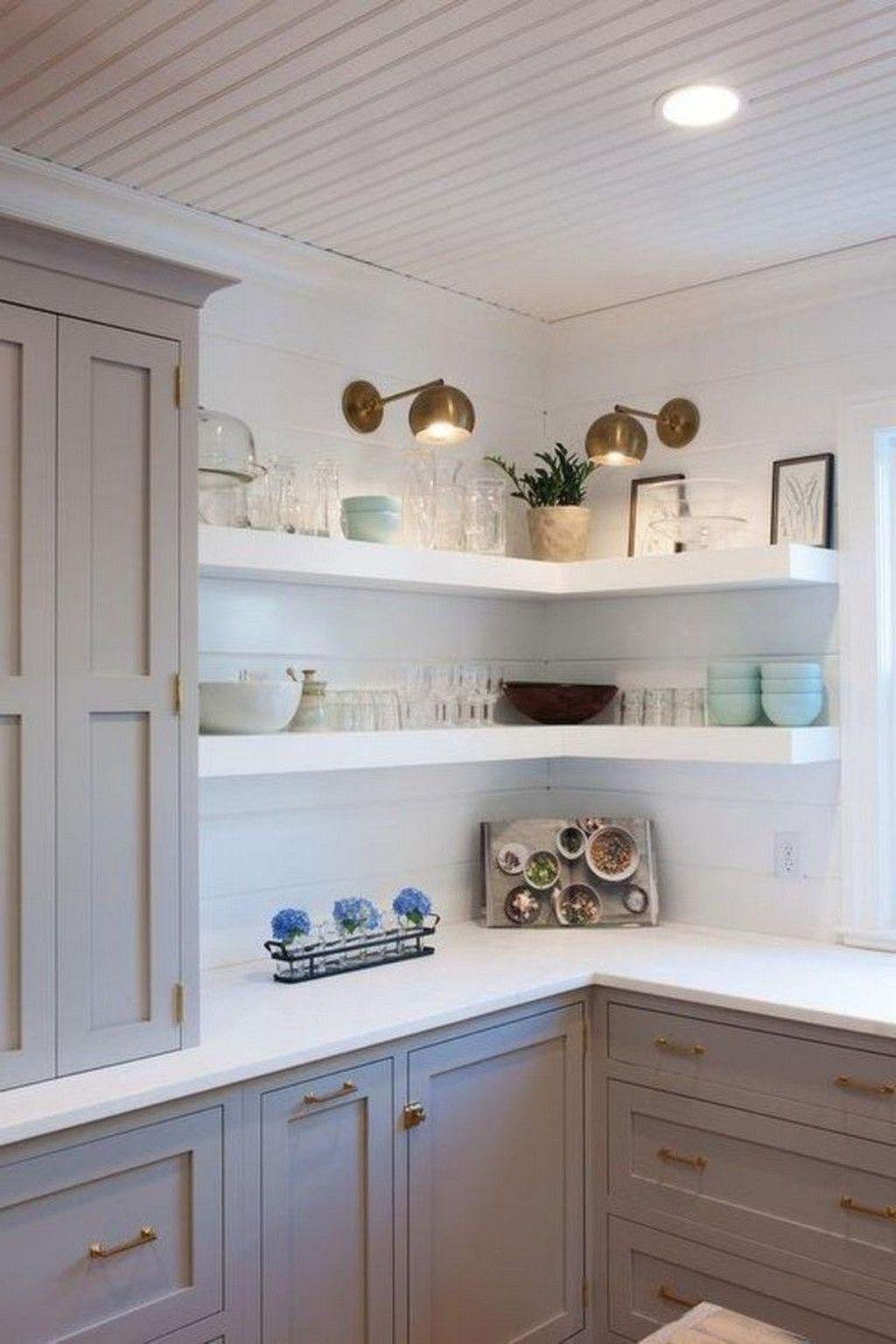 49 amazing diy floating wall corner shelves ideas diy on floating shelves kitchen id=85281