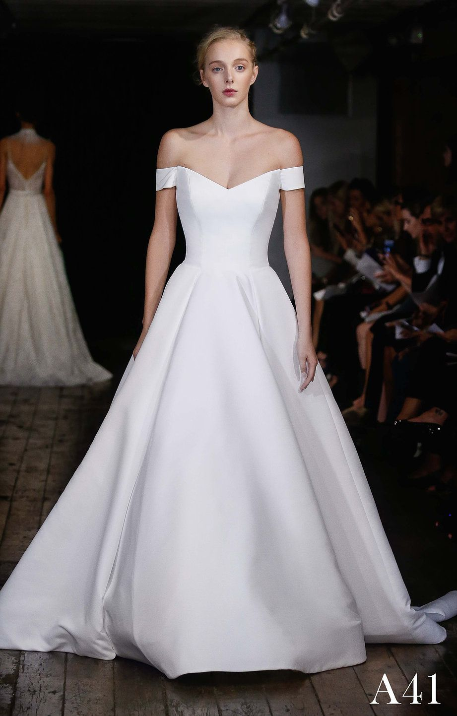 Alyne by Rita Vinieris chic simplistic bridal gowns made from only ...