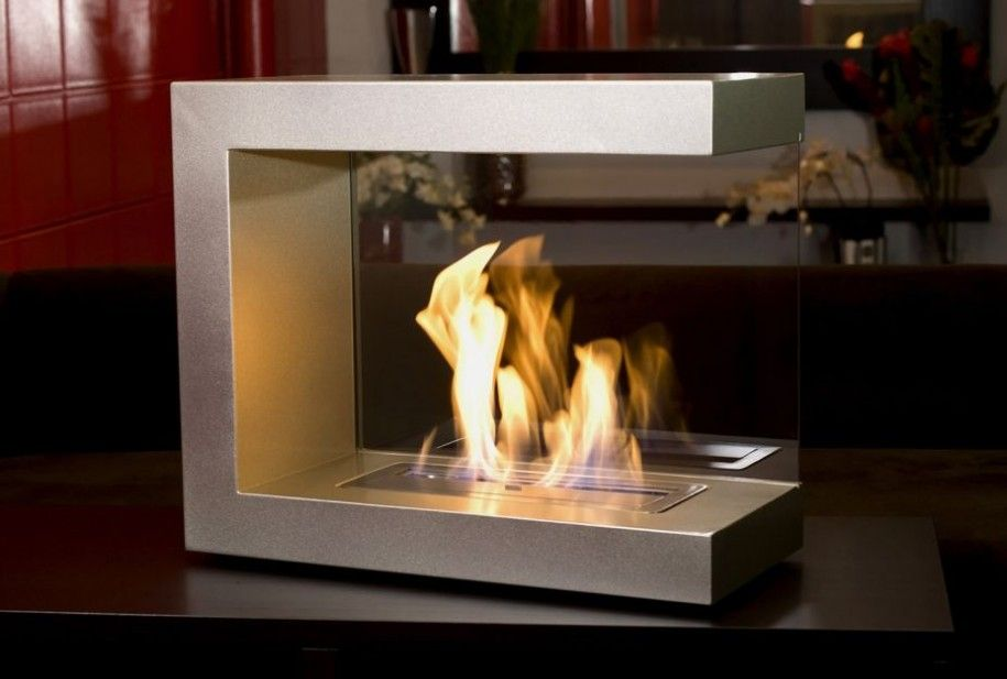 Beau Modern Indoor Electric Fireplace | Stainless Steel Material Electric  Fireplace Portable Stuff Minimalist .