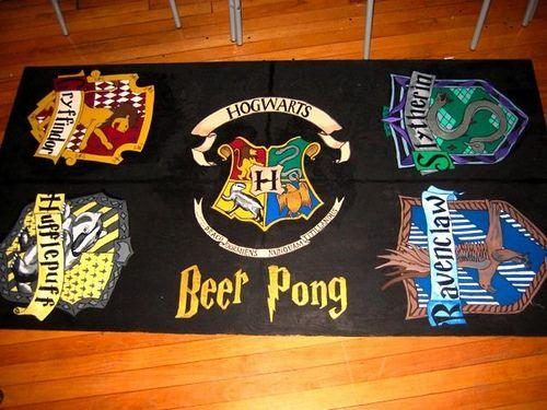 Harry Potter Beer Pong Table Harry Potter Beer Pong Beer Pong