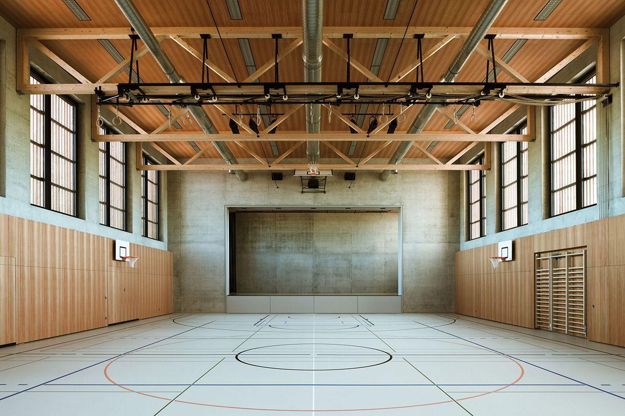 SUBTILITAS Rigert & Brisang - Multi-purpose sports hall, Güttingen 2010