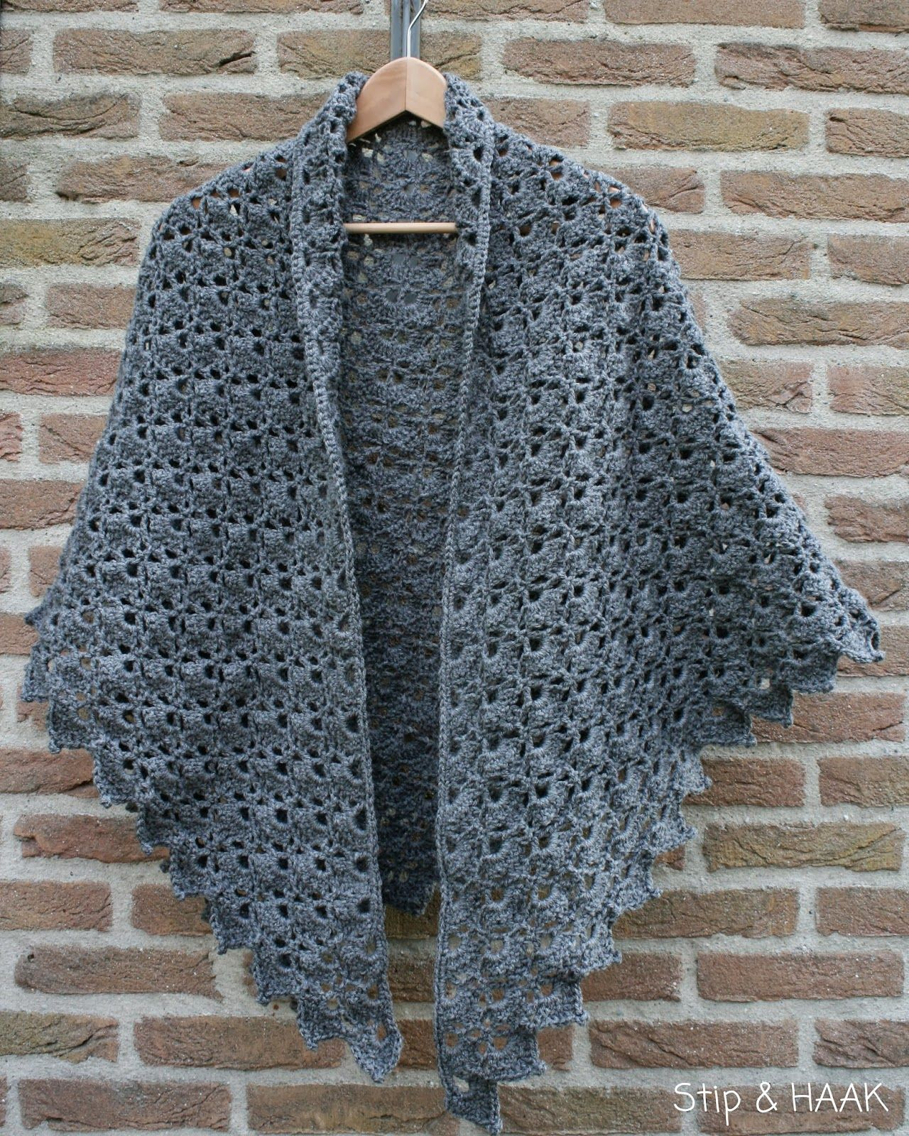 Crochet Shawl Free Pattern Downloaded Crochet Clothing