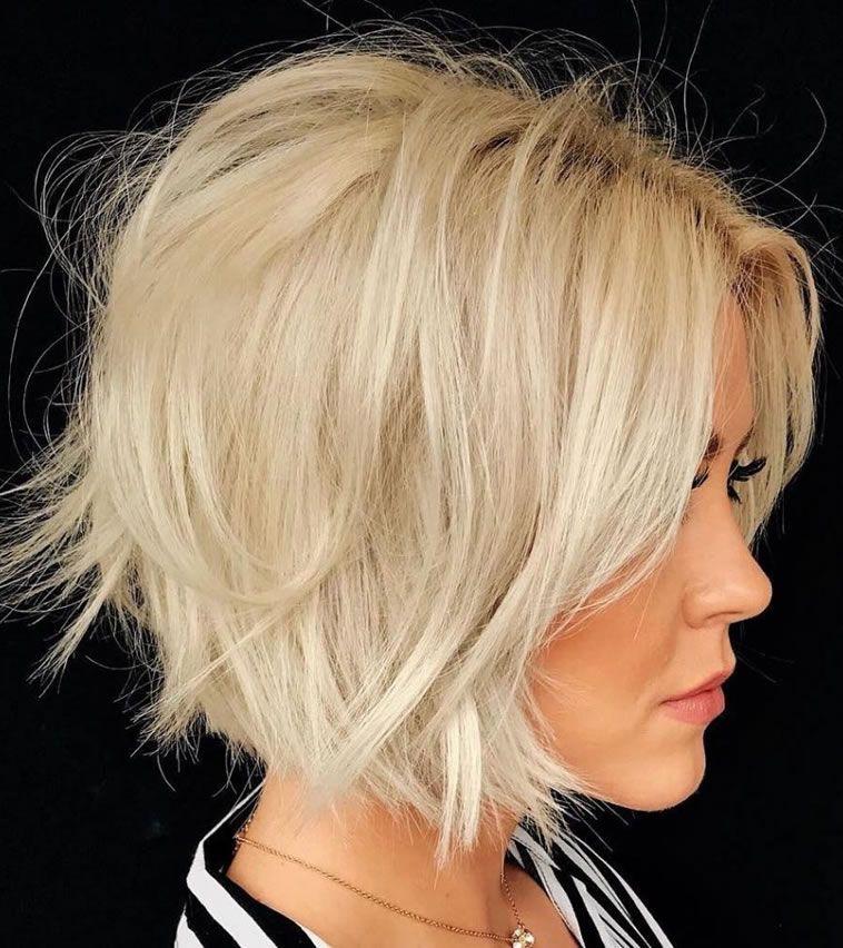 22 tagli di capelli bob rapidi e corti e nuovi colori per capelli per donna »Acconciature 2020 Nuove acconciature e tinte per capelli