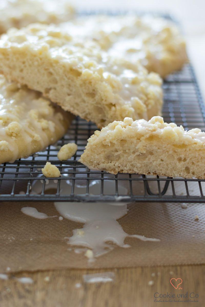 Streuseltaler (saftige Streuselschnecken) | Cookie und Co