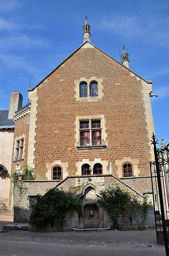 Château de Bourbilly (XIVe) (Côte-d'Or) Bourgogne