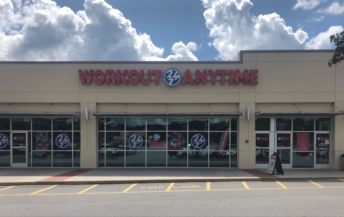 Easley South Carolina Anytime Fitness Workout Strength Training Equipment