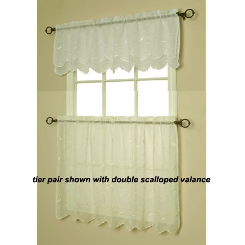 discount window treatments. Discount Window Drapes - Hathaway Cream Embroidered Curtain Panel And Valances Treatments E
