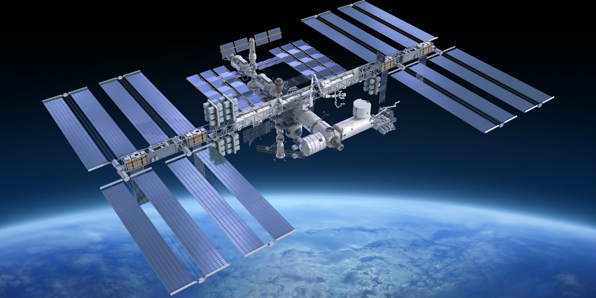 Building the International Space Station 'ISS