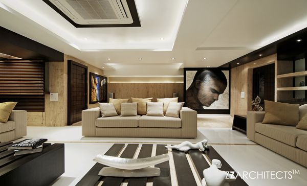 Room Luxurious Interiors And Indian Contemporary Art