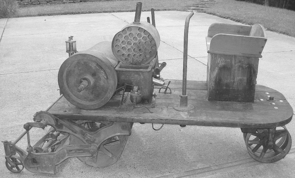 100YearOld Riding Reel Mower Reel mower, Mower, Lawn