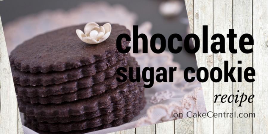 Schokolade kein Fail Sugar Cookie - NFSC - CakeCentral.com