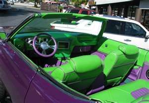 Purple And Green Car With Images Purple Car Green And Purple