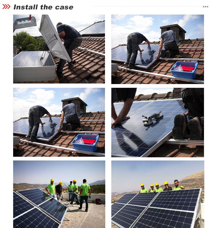 Solar Power Panel 300w Home Use Grade A Solar Pv Monocrystalline Solar Panels Made From View American Made Solar Pane With Images Solar Power Panels Solar Panels Solar Pv