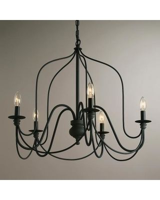 Rustic wire chandelier gray metal by world market from cost cost plus world market rustic wire chandelier world market from cost plus world market aloadofball Choice Image
